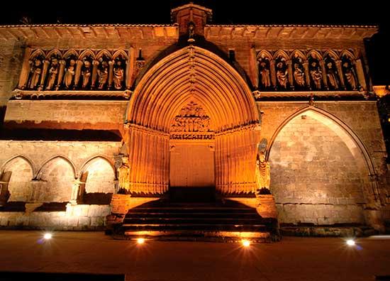 Iglesia del Santo Sepulcro en Estella-Lizarra