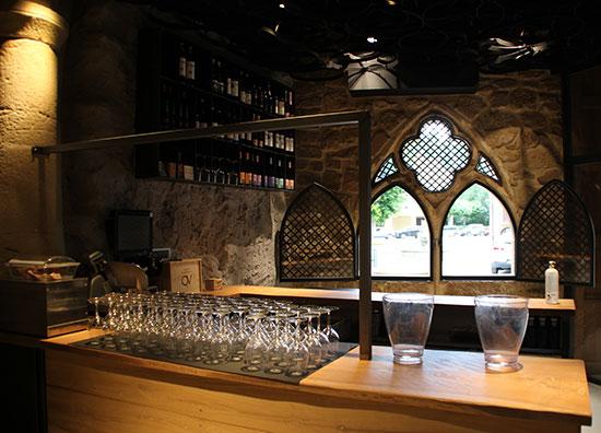 Interior del Parranda Wine Bar en Estella-Lizarra